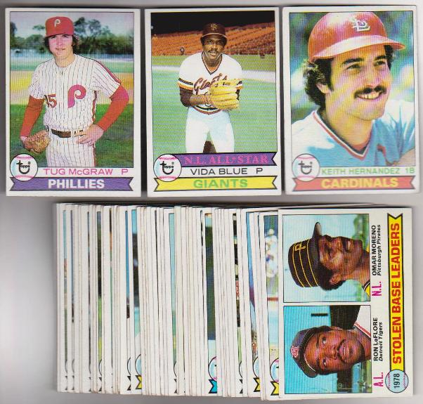 50 Different 1979 Topps Baseball Cards Keith Hernandez More