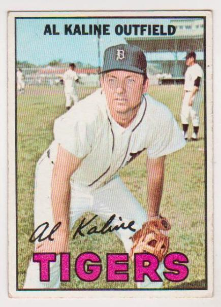 1967 Topps Al Kaline 30 Rookie Card Hofer Property Room