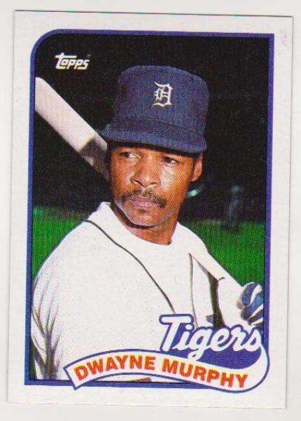 Wrong Front Error Gary Sheffield Rookie 1989 Topps Card