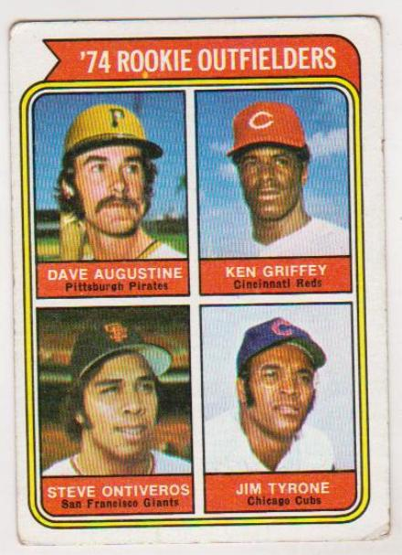1974 Topps Ken Griffey 598 Rookie Card Property Room
