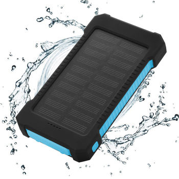 10000mAh Dual USB Solar Powered Bank