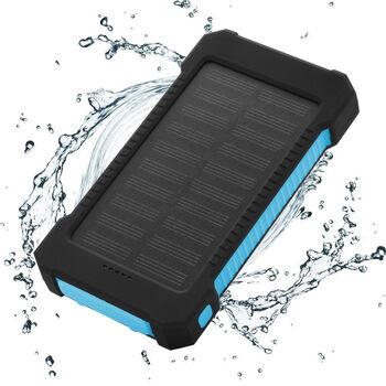 10000mAh Dual USB Solar Powered Bank