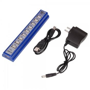 10-Port USB 2.0 Hub