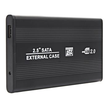 """2.5"""" USB 2.0 External SATA HDD Enclosure"""