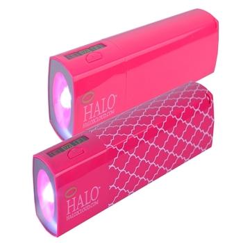 (2-Pack) Halo Pocket Power StarLight 3000mAh Power Bank