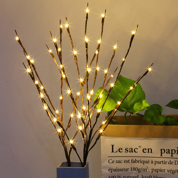 (2X) LED Willow Branch
