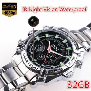 32GB SPY DVR Camera Watch