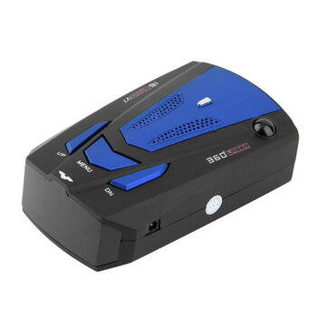 360 Degree Radar Detector w/ Voice Alert