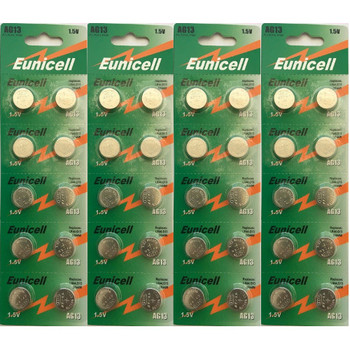 40-count AG13 / LR44 1.5 Volt Alkaline Batteries