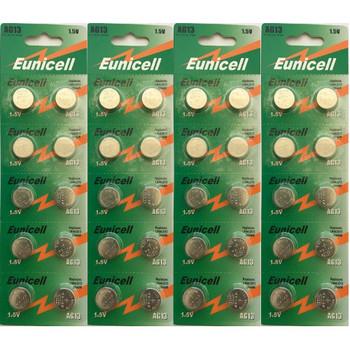 40-count AG13 / LR44 1.5 Volt Alkaline Batteries