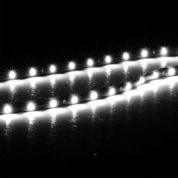 4pcs 15 LED Waterproof Vehicle Strip Light (White)