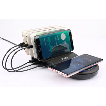 5-in1 Wireless Fast Charging Station