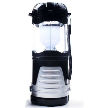 6 LED Collapsible Solar Camping Lantern / Flashlight