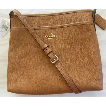 Coach Pebbled Leather Crossbody Bag