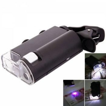 60X-100X Cellphone Clip Style Magnifier