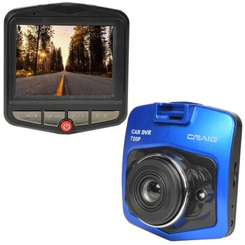 "720P Dash Cam with 2.4"" LCD"