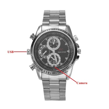 8GB SPY DVR Camera Watch