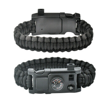 9-in-1 Paracord Survival Wristband