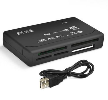 All-in-One External USB Universal Card Reader