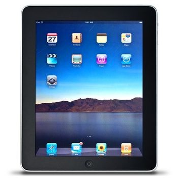 Apple iPad with Wi-Fi (Black)