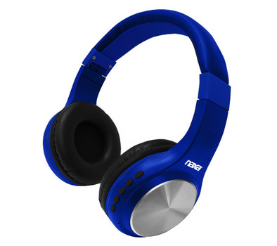 Bluetooth Wireless Headphones (Blue)