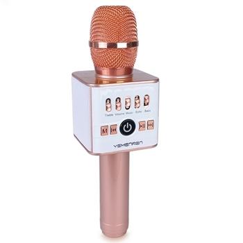 Bluetooth Wireless Karaoke Microphone with Stereo Speaker