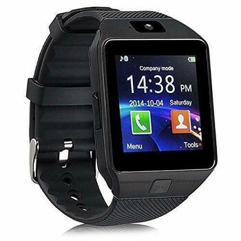 Bluetooth Wrist Phone Smartwatch - Black