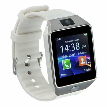 Bluetooth Wrist Phone Smartwatch - White