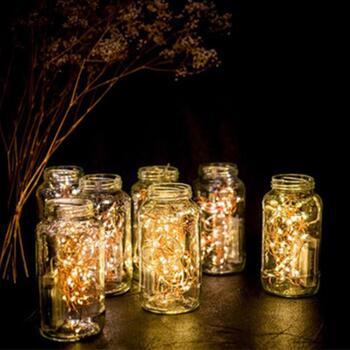 Copper LED String Lights