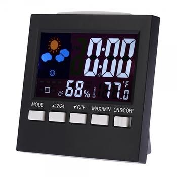 Digital LCD Thermometer & Hydrometer Alarm Clock
