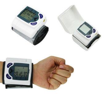 Digital Wrist Blood Pressure and Heart Rate Monitor
