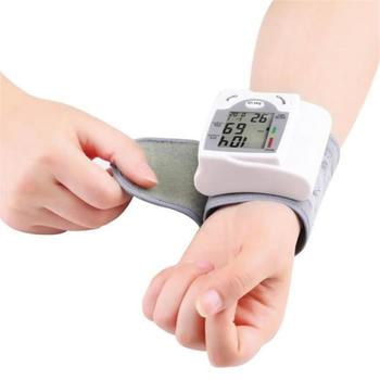 Digital Wrist Blood Pressure and Heart Rate Monitor