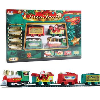 Electric Model Christmas Train