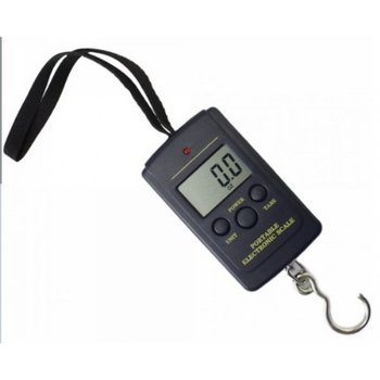 Electronic Luggage Scale w/ 88 lbs. Capacity, Large LCD Display and Tare