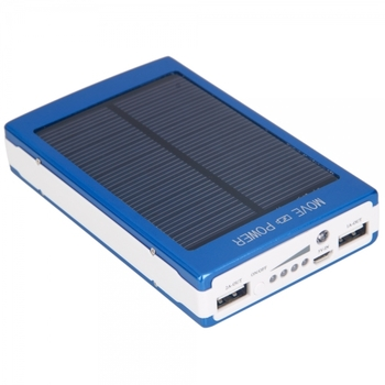 High Capacity Dual-USB Solar Powered Bank