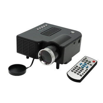 LED Digital Projector w/HDMI, VGA & AV