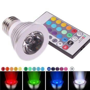 Magic Light Bulb w/Wireless Remote Control