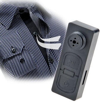 Mini Button Pinhole DVR