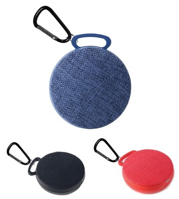 Mini Wireless Fabric Speaker (Black)
