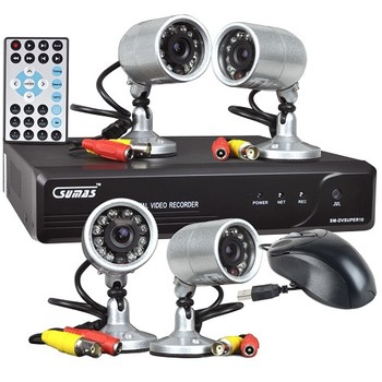 Network DVR Surveillance Kit with 320GB HDD