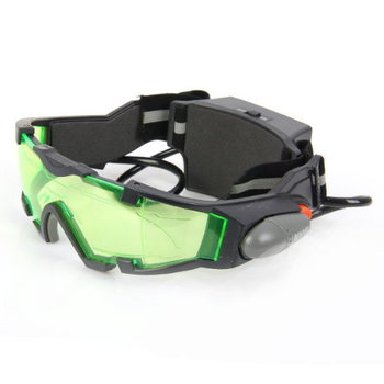 Night Vision Goggles for Outdoor Night Activities w/ Lights