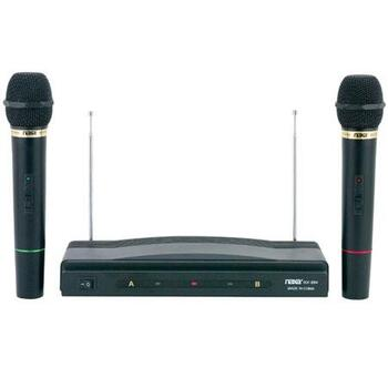 Professional Dual Wireless Dynamic Microphone System