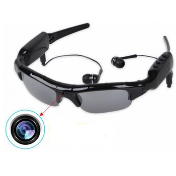 Rechargeable Video Camera Sunglasses with MP3 Player