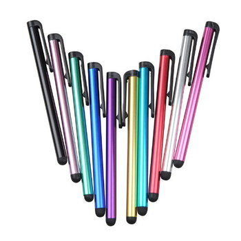 Set of 10 Touchscreen Stylus in Assorted Colors