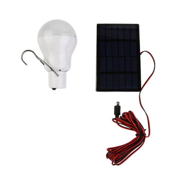 Solar Powered LED Camp Bulb