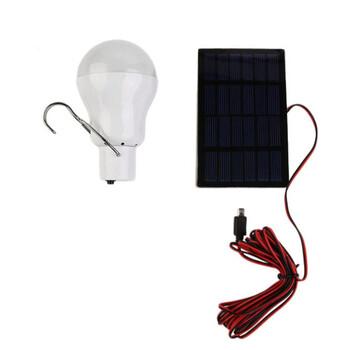 Solar Powered LED Camp Bulb
