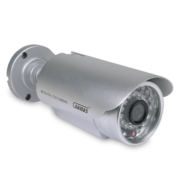 Sumas Media Wired Surveillance Bullet Camera
