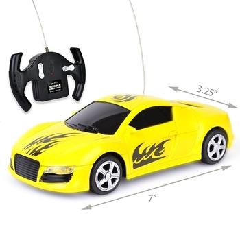 Super Quick R/C Car w/Working Headlights
