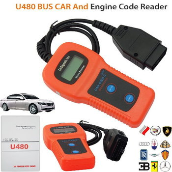 U480 CAN OBDII Car Diagnostic Scanner