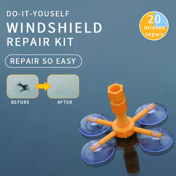 Windshield Glass Repair Kit